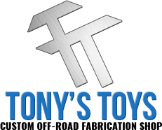Tony's Toys | Custom Side by Side Fabrications