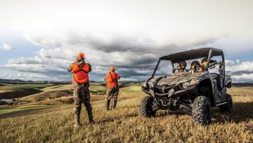 Hunting with your ATV